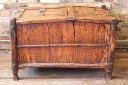 19th Century Tribal Stick Chest from Jaisalmer